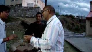 Ashish Arya performing @ nescafe Pyar thumhe GBPEC Pauri Garhwal
