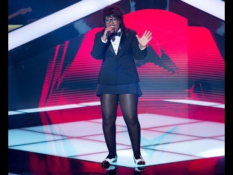 The Voice Brasil - Kynnie Williams se apresenta na Audição