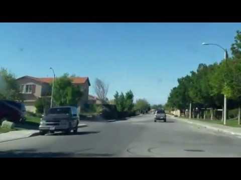 Palmdale California calles la 30th y casas