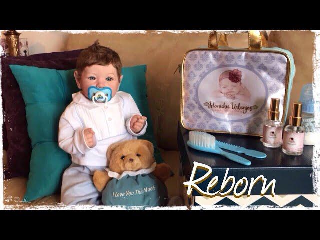 CHEGADA DO MEU BEBÊ REBORN BY MONICKIE URBANJOS Reborn baby unboxing