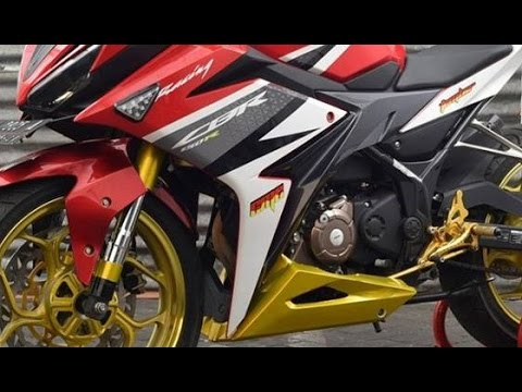 modifikasi cbr 150 facelift terkeren