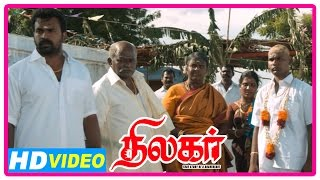 Thilagar Tamil Movie | Scenes | Poo Ram releases his son from police | Dhruvva | Anumol