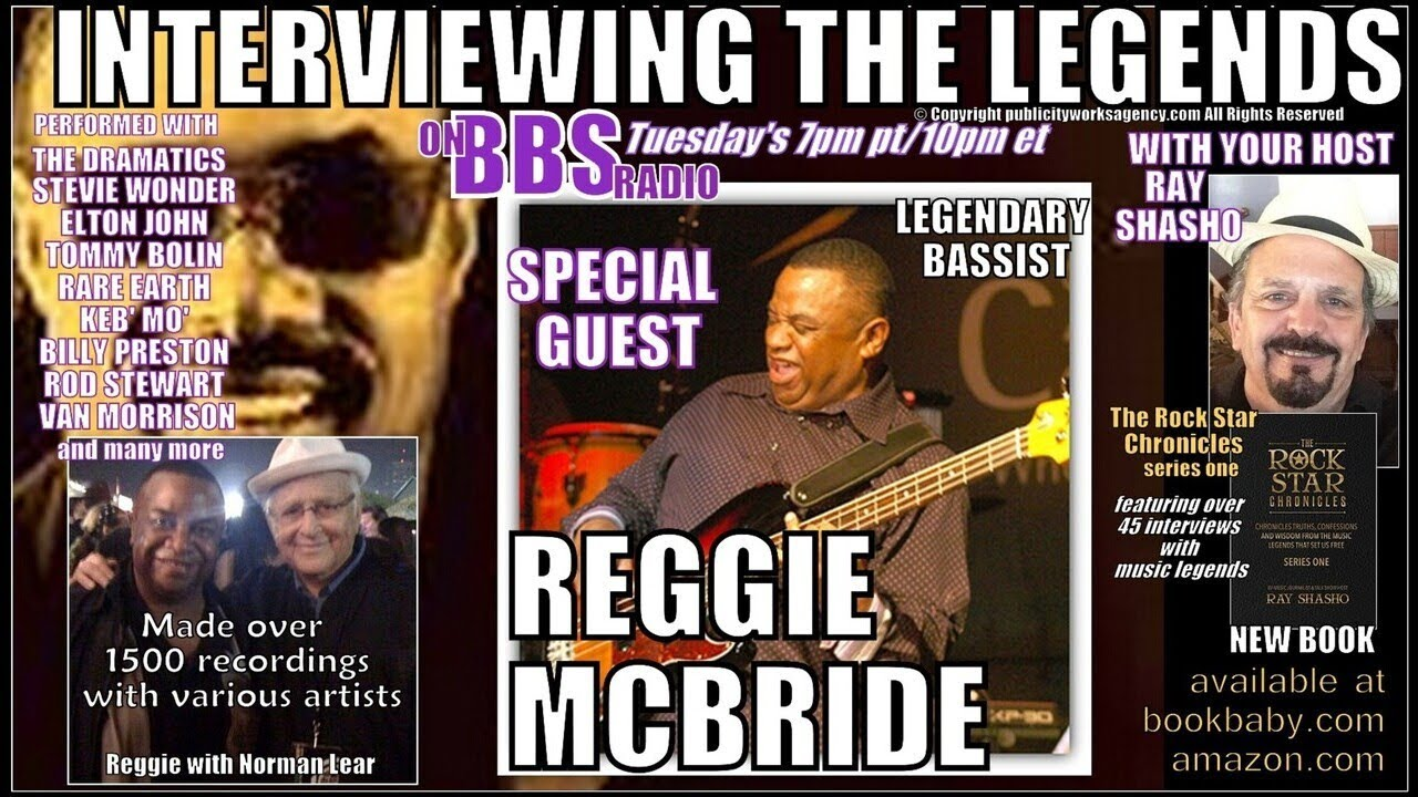 Reggie McBride Legendary Session & Touring Bassist