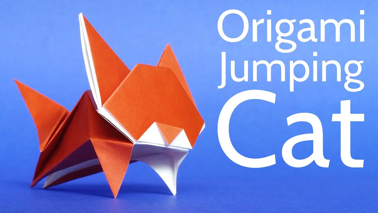 How To Make A Cute Origami Cat Tutorial Stephane Gigandet