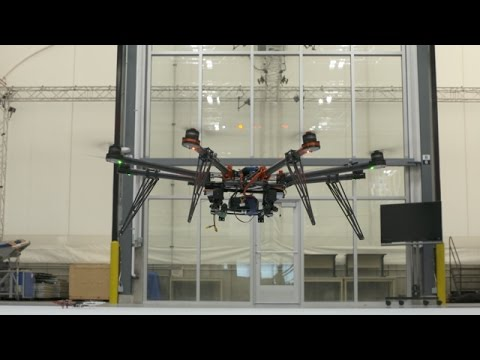 Inside Boeing's Drone Laboratory: Drones Working Together