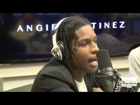 A$AP Rocky Interview with Angie Martinez