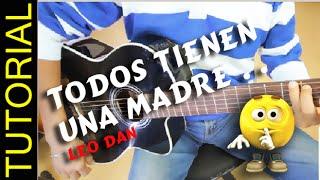 Como tocar A la SOMBRA de mi MADRE en Guitarra Acordes