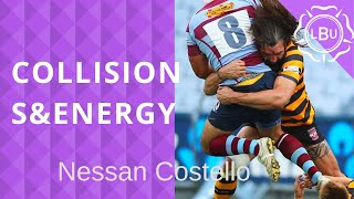 Energy Expenditure of Collisions