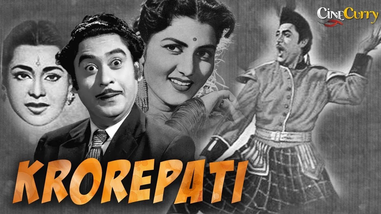 Download करोड़पति | Krorepati (1961) | Full Hindi Movie | Kishore Kumar