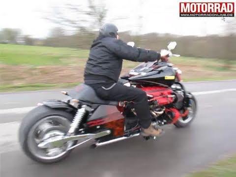 画像: Ohle-V12: Motorrad Umbau mit 435 PS youtu.be