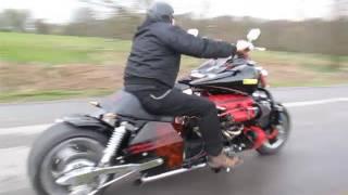 Ohle-V12: Motorrad Umbau mit 435 PS