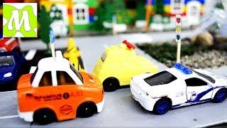 Cartoons about cars. Мультики про машинки Учим дорожные знаки Мультфильмы для детей!