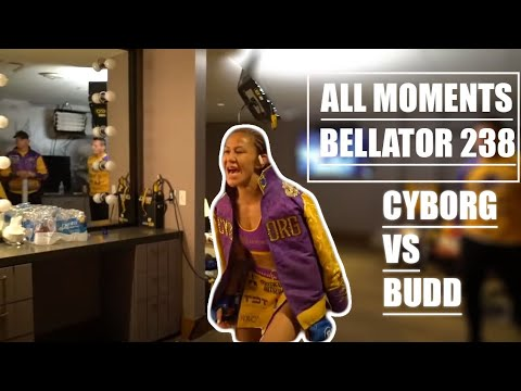 Cris Cyborg ALL SIDES Bellator 238 Julia Budd  Grand Slam Championship Fight