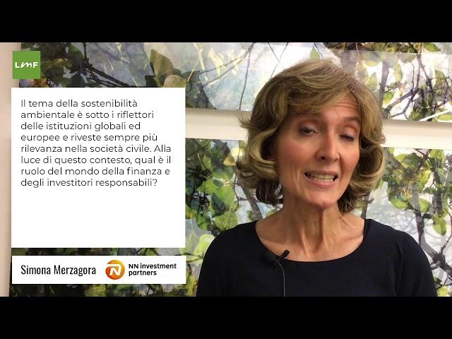 Istituzioni e slstenibilità ambientale - Simona Merzagora (NN Investment Partners)