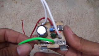 Inversor TV Computador 6 lampadas fluorescentes