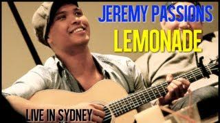 Lemonade (Live Acoustic) | JEREMY PASSION x Sydney Australia 2013