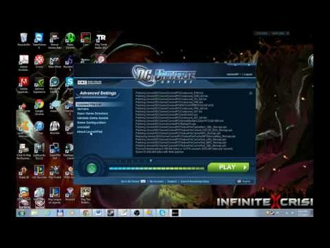 Tutorial - How to Install DC Universe Online PC Test (without redownloading the entire game)