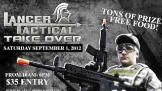 Godfather Airsoft Lancer Tactical Take Over Trailer