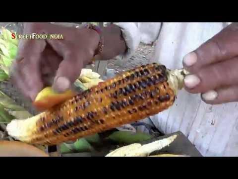 South Indian Street Food  LEMON CORN  Healthy food  NATURAL FOOD  Konaseema Mokka Jonna potthulu