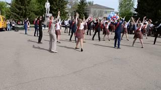 Танец выпускников Усть Пристани.