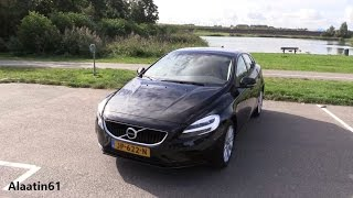 2017 Volvo V40 / Start Up, Pov Drive, In Depth Review Interior Exterior