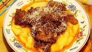 23 - Batufoli..ner tegame ti c'intrufoli (piatto unico a base di carne e polenta tipico livornese)