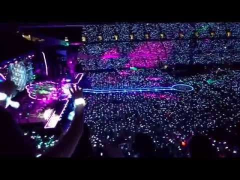 Coldplay - Wristbands Light Up Chicago Soldier Field - Sunday, July 24, 2016