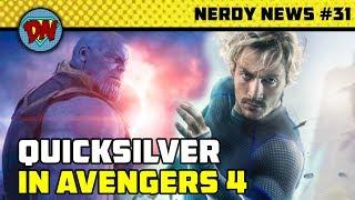 Avengers 4 Trailer, Quicksilver, Aquaman, Spiderman Far From Home, Joker   Nerdy News #31