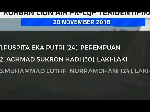 3 Jenazah Korban Lion Air PK-LQP Kembali Teridentifikasi Mp3