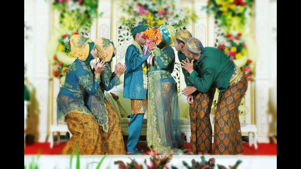 contoh variasi pose foto rias temanten pernikahan adat