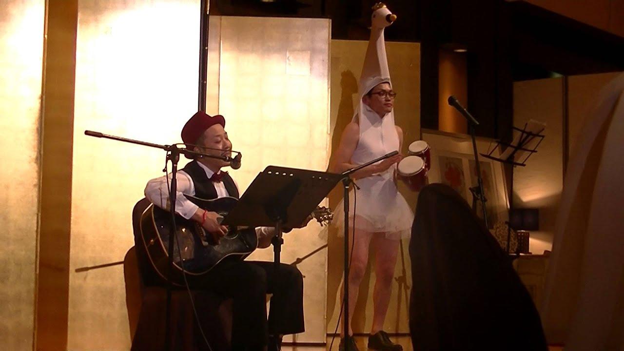 2015.5.16 だいち✩すずか 結婚式余興 ベイビーアイラブユー ギター弾き語り , YouTube