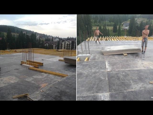 Звіт про виконання будівельних робіт у липні. Апарт-готель Le Meandre