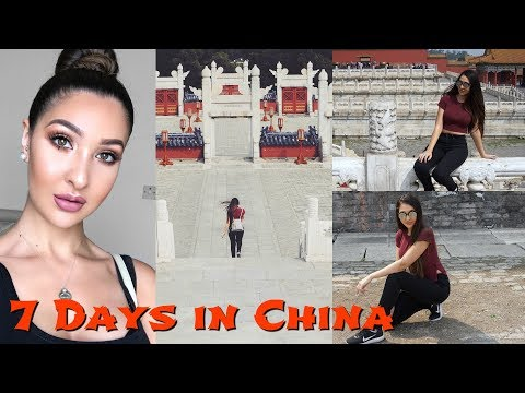 Travel To China With Me! || Beijing Travel Vlog