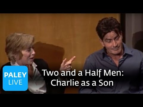 Two and a Half Men  Charlie as a Son Paley Center