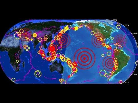 ¿Donde serán los próximos terremotos de  2018?