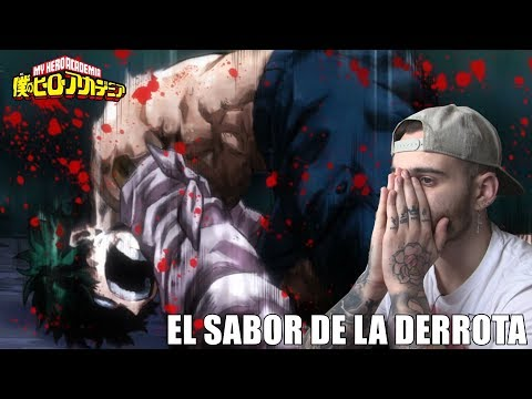 UNA DERROTA TOTAL... - BOKU NO HERO EP.7 (3era Temp) REACCIÓN