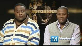 Notorious B.I.G Interview - Derek Luke & Jamal Woolard speak about the rap star & movie