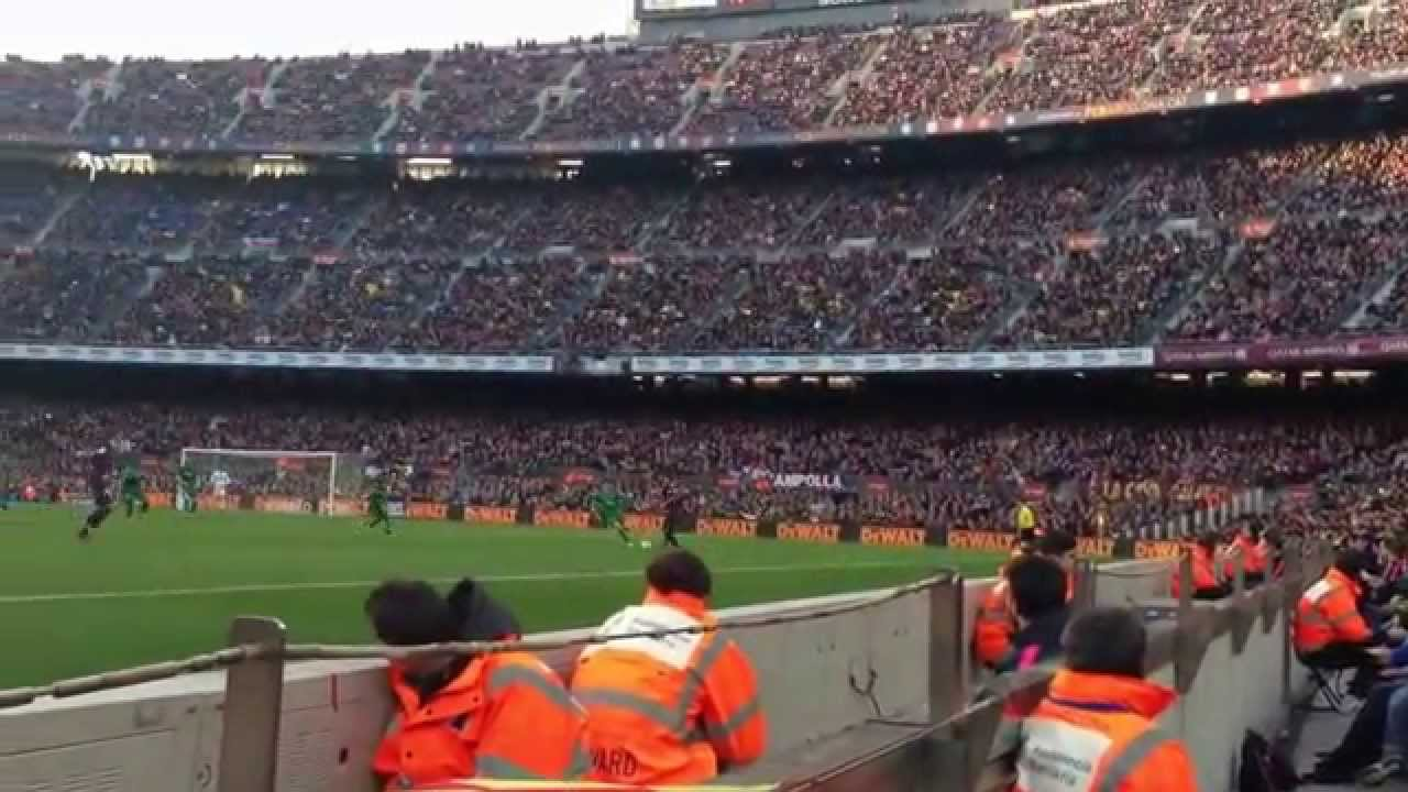 FC Barcelona-Levante (5-0) 15-02-2015 (Messi, Neymar, Suarez)