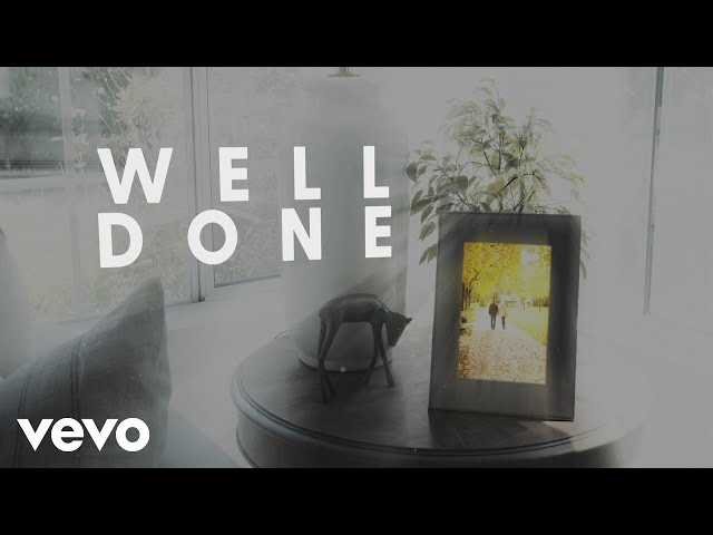The Afters - Well Done (Official Lyric Video)