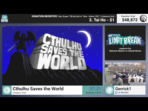 Cthulhu Saves the World by Gerrick (RPG LImit Break 2017 Part 28)