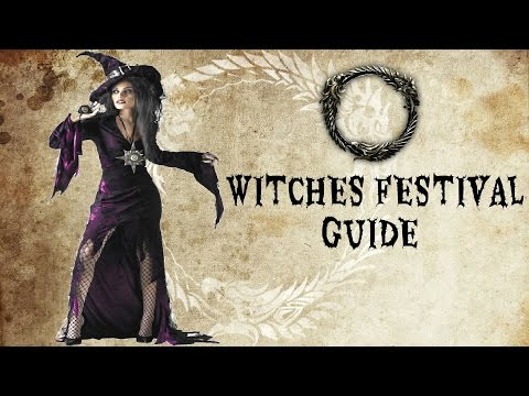 ESO | Witches Festival Guide | Part 1