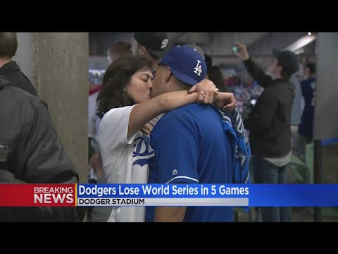 'There's Always Next Year': Dodgers, Red Sox Fans React To LA's 2nd World Series Loss In A Row At Ho