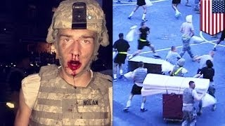 30 кадетов Военной академии Вест-Пойнт получили травмы в результате боя на подушках