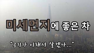 """[더빙] 미세먼지에 좋은 차 추천! """"공기가 …"""