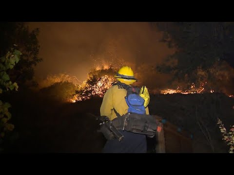 Largest wildfire in California history rages on