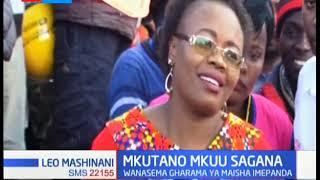 Wenyeji wa Kiambu wamewarai viongozi wao  kumueleza rais Uhuru masaibu yanayowakumba