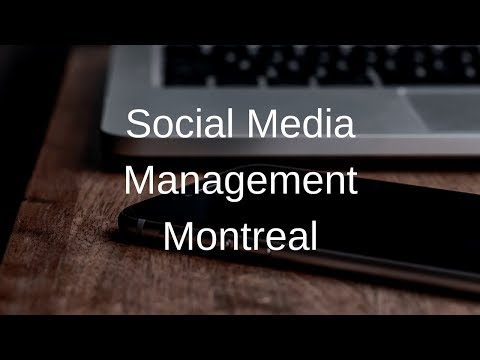 Social Media Management Montreal