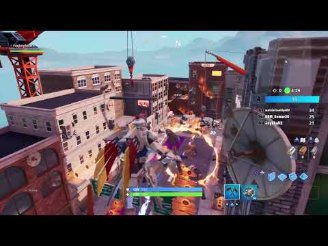 Fortnite: How To Jump Through All 6 Flaming Hoops In Downtown Drop