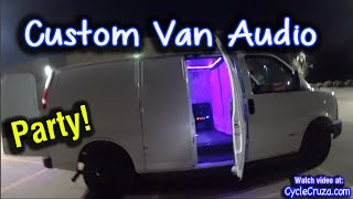 Bug Out Van Custom Audio System | Back up Camera System