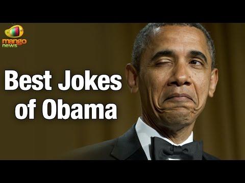President Obama at the White House Correspondents Dinner   Best Jokes of Obama